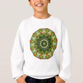 Sweatshirt Nature de fleurs sauvages, Fleur-Mandala