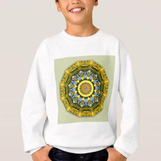 Sweatshirt Nature de tournesol, Fleur-Mandala