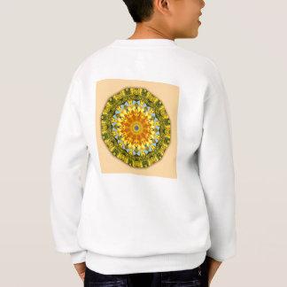 Sweatshirt Nature de tournesol, Fleur-Mandala 004 03