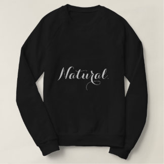 Sweatshirt naturel