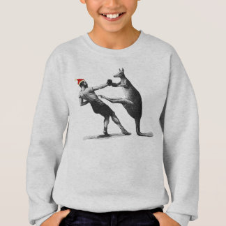 Sweatshirt Noël de kangourou de boxe