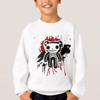 Sweatshirt Nounours et os