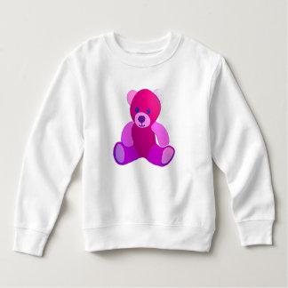 Sweatshirt Nounours rose