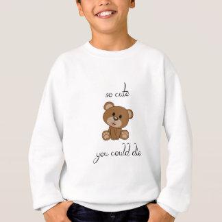 Sweatshirt Nounours tellement mignon