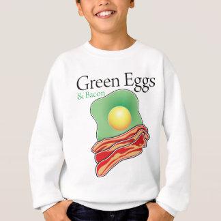 Sweatshirt Oeufs et lard verts