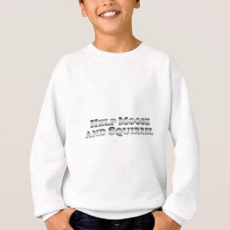 Sweatshirt Orignaux et écureuil d'aide - de base