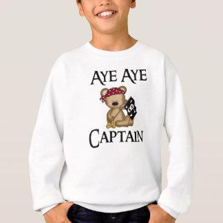 Sweatshirt Oui oui le pirate d'ours de capitaine nounours