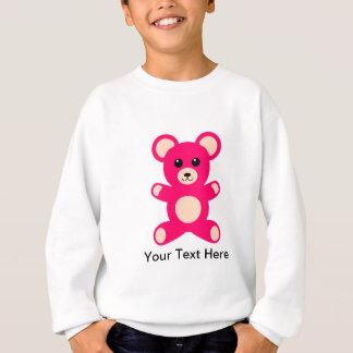 Sweatshirt Ours de nounours rose lumineux de bébé