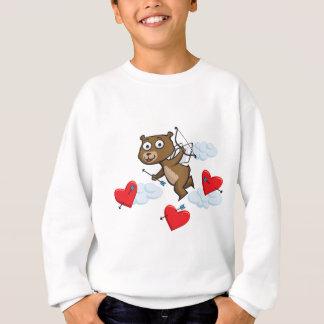 Sweatshirt Ours de nounours Valentine