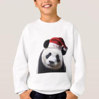 Sweatshirt Ours panda de Noël