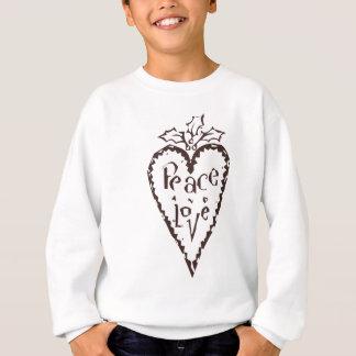 Sweatshirt Paix et amour