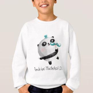 Sweatshirt Panda avec des moustaches