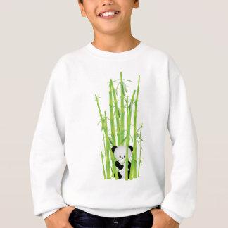 Sweatshirt Panda de bébé dans la forêt en bambou