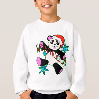 Sweatshirt Panda de Noël