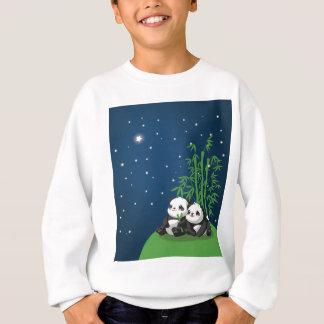 Sweatshirt Panda de nuit d'étoile