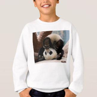 Sweatshirt Pandas de bébé jouant - panda mignon de panda de
