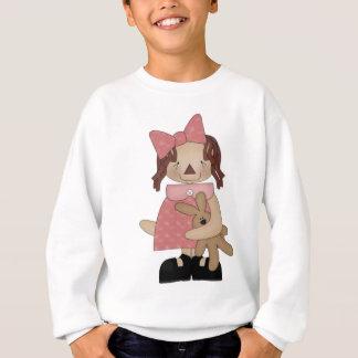 Sweatshirt Pâques Annie aimant un ours de nounours