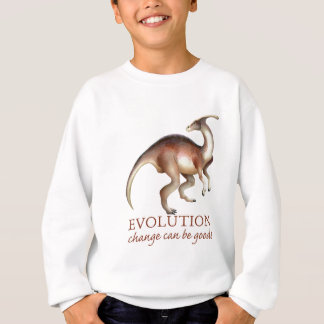Sweatshirt Parasaurolophus d'évolution