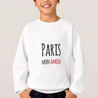 Sweatshirt Paris, Mon amour
