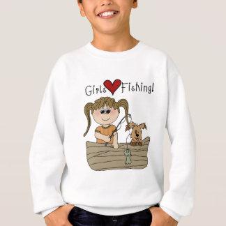 Sweatshirt Pêche d'amour de filles