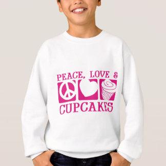 Sweatshirt Petits gâteaux d'amour de paix