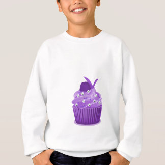 Sweatshirt Petits gâteaux pourpres délicieux
