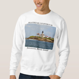 Sweatshirt Phare de Beavertail, Jamestown Île de Rhode
