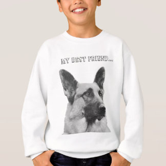 Sweatshirt Photo magnifique de berger allemand