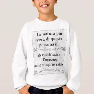 Sweatshirt Più Vera de natura de La : jument de cellule