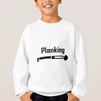 Sweatshirt Planking