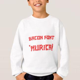 Sweatshirt Police 'Murica de lard !