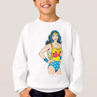 Sweatshirt Pose vintage de la femme de merveille | avec le