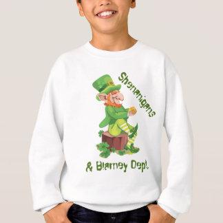 Sweatshirt Pot de lutin d'or irlandais