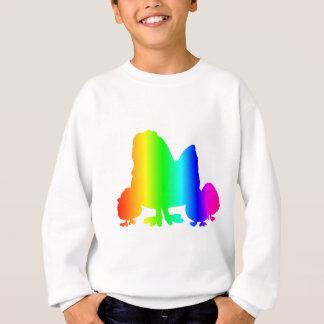 Sweatshirt Poulet 3 d'arc-en-ciel