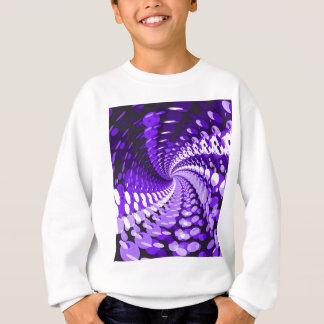 Sweatshirt Pourpre abstrait