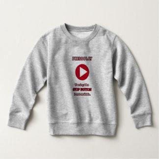 Sweatshirt Pressez la chemise de chandail de jeu