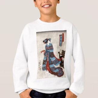 Sweatshirt Princesse Minatsuru - Kunisada Utagawa - 1843