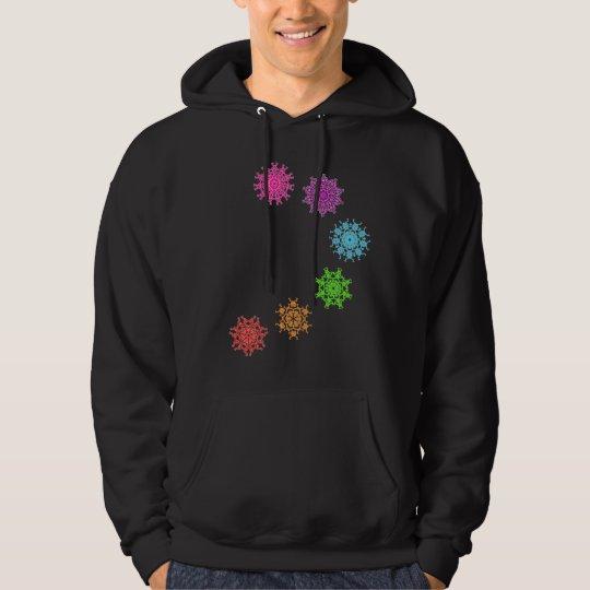 Sweatshirt psychédélique chakras