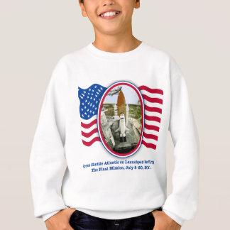 Sweatshirt Rendu d'Artiistic de navette spatiale l'Atlantide