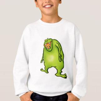Sweatshirt riant de monstre