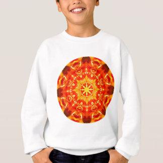 Sweatshirt Roue orange