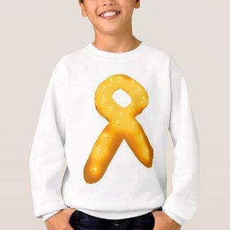 Sweatshirt Ruban de bougie de conscience de leucémie