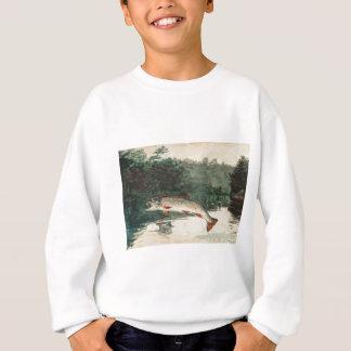 Sweatshirt Saut de la truite Homer