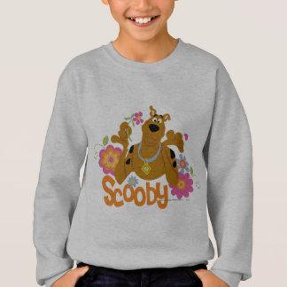 Sweatshirt Scooby en fleurs