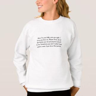 Sweatshirt sécurité de l'enfant