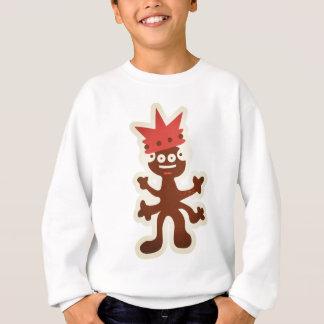 Sweatshirt seltsame Kreatur : fröhlicher König