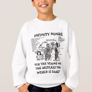 Sweatshirt Sens d'InfinityMindz Curtis comique