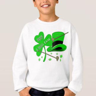 Sweatshirt Shamrock du jour de St Patrick heureux