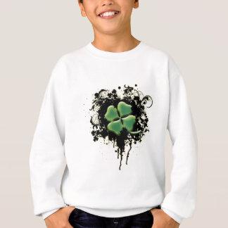 Sweatshirt Shamrock irlandais (grunge)