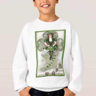 Sweatshirt Shamrock irlandais Riverdance de l'Irlande de